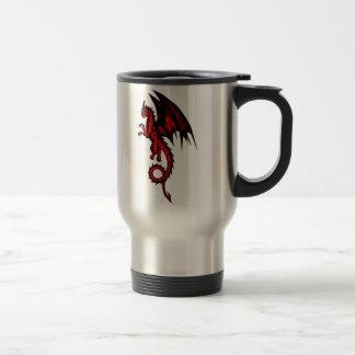 Caneca Térmica Vermelho do dragão