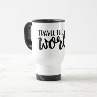 Caneca Térmica Viaja o mundo
