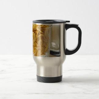 Caneca Térmica Vidro do cereal seco e um vidro do leite