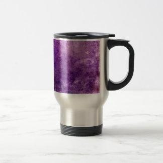 Caneca Térmica Violeta abstrata
