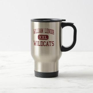 Caneca Térmica William Lenoir - Wildcats - meio - Lenoir