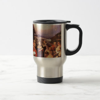 Caneca Térmica Worship_of_the_shepherds_by_bronzino
