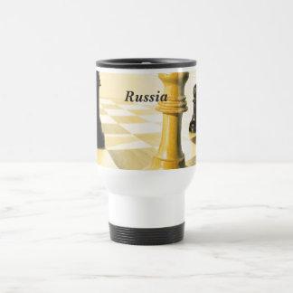 Caneca Térmica Xadrez de Rússia