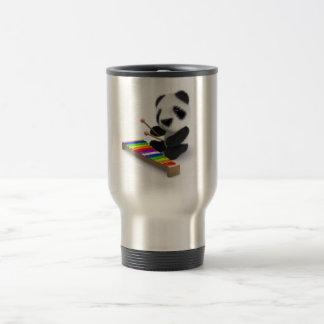 Caneca Térmica xilofone da panda do bebê 3d
