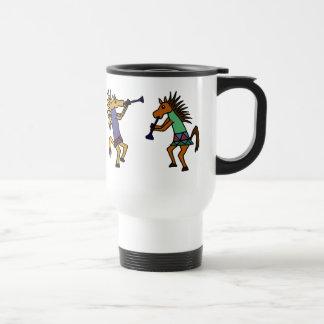 Caneca Térmica XX- cavalos de dança