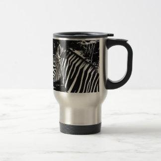 Caneca Térmica zebra camouflged