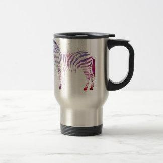 Caneca Térmica Zebra da aguarela