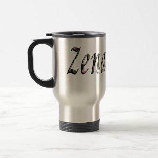Caneca Térmica Zena, nome, logotipo,