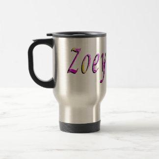 Caneca Térmica Zoey, nome, logotipo,