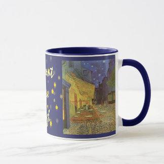 Caneca Terraço de Cafe em presentes do café de Van Gogh