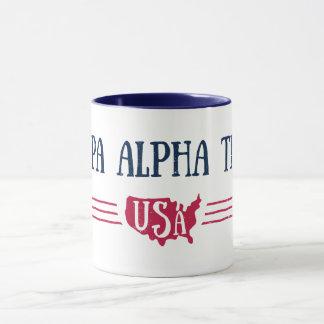 Caneca Teta alfa   EUA do Kappa
