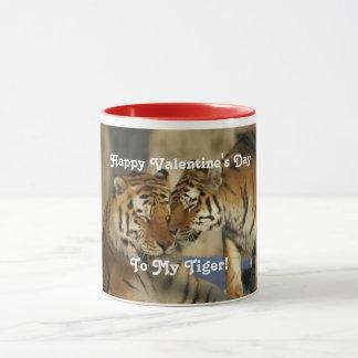 Caneca Tigres do dia dos namorados