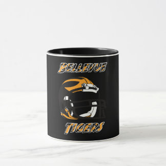 Caneca Tigres Kentucky do segundo grau de Bellevue