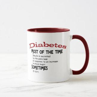 Caneca Tipo - 2 presentes & t-shirt do diabetes