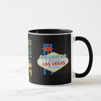 Caneca Tira de Las Vegas e lembrança do sinal
