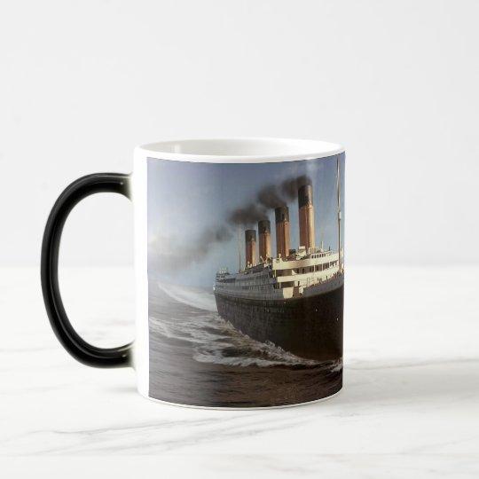 Caneca - Titanic rumo a Nova York