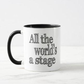 Caneca Todos os mundos um palco