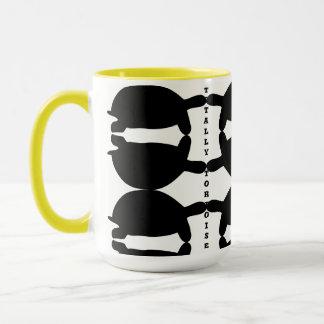 Caneca Totalmente café da tartaruga/caneca/copo Funky do
