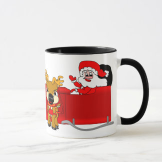 Caneca Trenó do papai noel