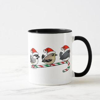Caneca Três passarinhos do Natal (E.U.)