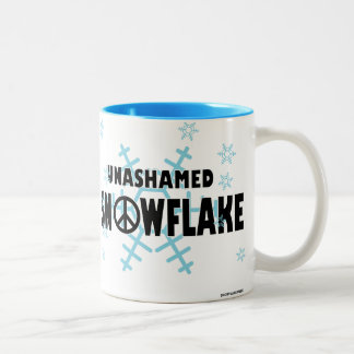 Caneca Unashamed do floco de neve