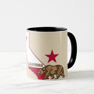 Caneca Urso atrativo dos Estados da Califórnia