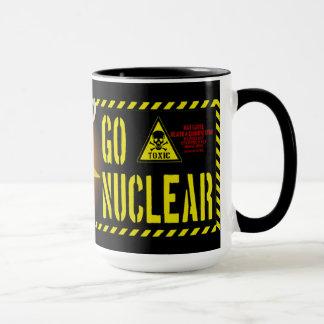 Caneca Vai o estilo nuclear da barata