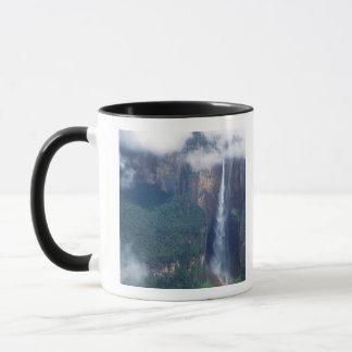 Caneca Venezuela, a Cataratas do Anjo, parque nacional de