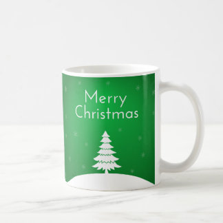 Caneca verde do Feliz Natal