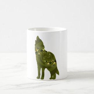 Caneca verde do lobo