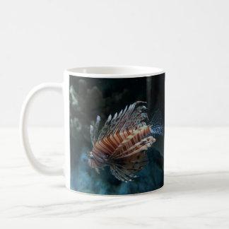 Caneca vermelha do Lionfish