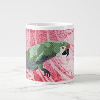Caneca vermelha do Macaw Jumbo Mug