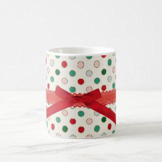 Caneca vermelha do Natal de Bibbon da faísca doce