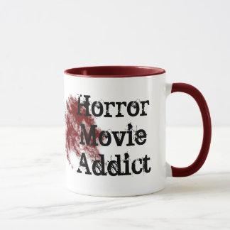 Caneca viciado do filme de terror