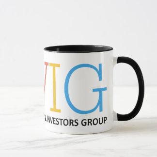 Caneca VIG - Grupo de accionistas virtual - copo de café