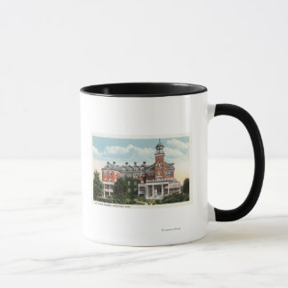 Caneca Vista exterior do hospital do St. Vincent