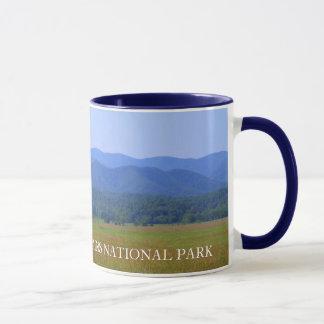 Caneca Vista geral de Great Smoky Mountains - angra de