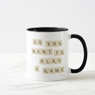 Caneca Você quer jogar um jogo