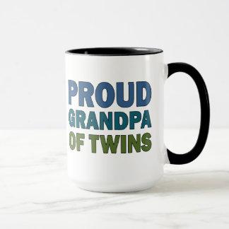 Caneca Vovô orgulhoso dos gêmeos