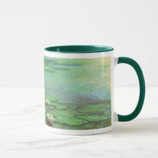 Caneca Waterlilies por Claude Monet, impressionismo do