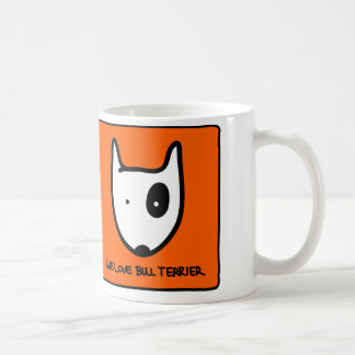 Caneca We Love Bull Terrier