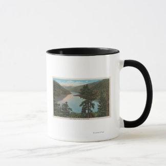 Caneca Wenatchee, WAView do lago Chelan