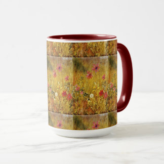 Caneca Wildflowers Henry Newman do vintage