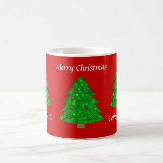Canecas da árvore de Natal