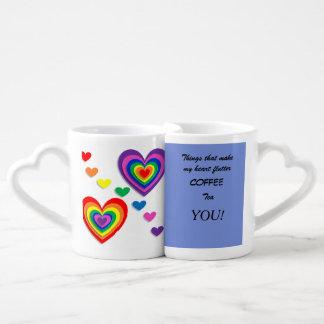 Canecas de café do assentamento - você faz meu