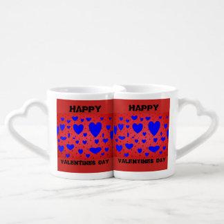 Canecas de café do CORAÇÃO do dia dos namorados