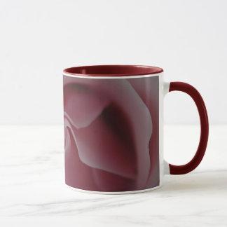 Canecas de café do redemoinho do rosa do rosa