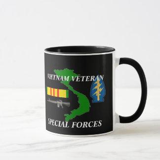 Canecas de café do veterano de Vietnam das forças
