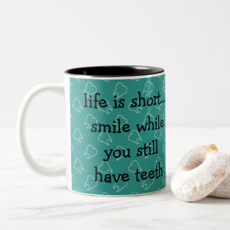 Canecas de café engraçadas do dentista