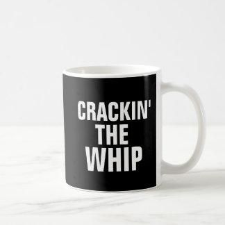 Canecas de café engraçadas para o CHEFE, Crackin o